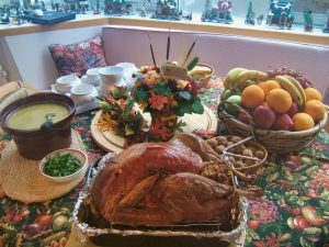 turkey dinner photo